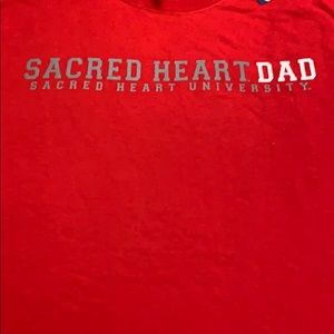 Sacred Heart University Dad tee shirt